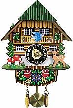 SHDT Wooden Cuckoo Wall Clock,Cuckoo