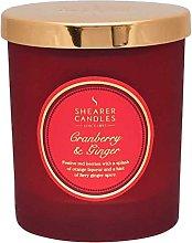 Shearer Candles Cranberry & Ginger Scented Jar