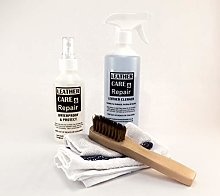 SHEEPSKIN LEATHER CLEANER & STAIN PROTECT KIT +