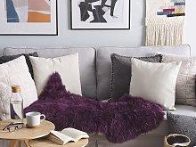 Sheepskin Light Purple 65 x 110 cm Natural High