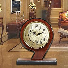 Shelf Clock Wooden Shelf Clock for Living Room