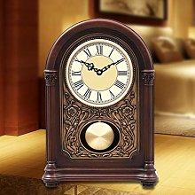 Shelf Clocks Mechanical Quartz Quiet Desk Shelf