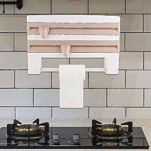 Shelf Kitchen roll Dispenser, Wall roll Holder for