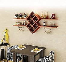 Shelf Living Room Wall Hanging Wine Rack Hanging