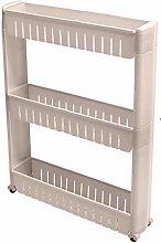 Shelf Units 3 Storey Rack Removable Simple Kitchen
