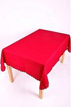 Shell 54 x 72 Inch (137x183cm) Oval Tablecloth.
