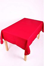Shell 54 x 72 Inch (137x183cm) Oval Tablecloth.