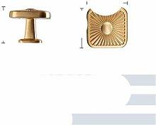 Shell Shape Kitchen Handle Gold Cabinet Pulls