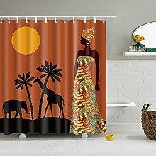 Shell starfish 3D Digital Printed Shower Curtain