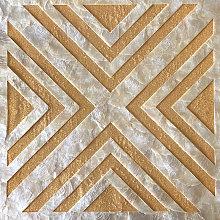 Shell wall covering LU01-5 CAPIZ decorative tile