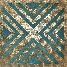 Shell wall covering LU010-12 CAPIZ decorative tile