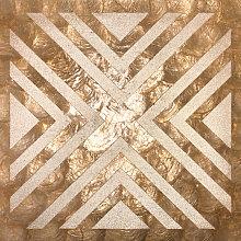 Shell wall covering LU04-5 CAPIZ decorative tile