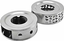 SHELOFT Stainless Steel Warmer Tea Heater Teapot