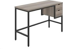 Shen Home Office Desk With 2 Drawers (Black