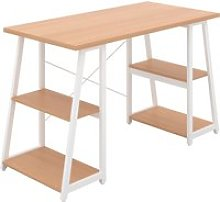 Shen Home Office Desk With A Frame (White Frame),