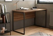 Shen Home Office Desk With Square Leg And Modesty