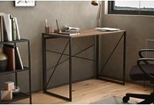 Shen Home Office Desk With Square Legs And Cross