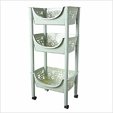 SHENAISHIREN Kitchen Storage Trolley cart,with