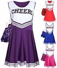 Shenfan Women's Cheerleading Costume
