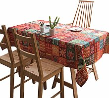 Shengluu Outdoor Table Cloth Tablecloth Cotton and