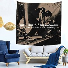shenguang Chevelle Band Tapestry Colorful Black