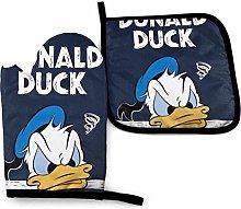 shenguang Donald Duck Oven Mitt and Pot Holder