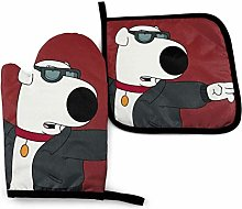 shenguang Family Guy Oven Mitts and Pot Holders