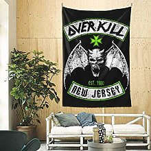 shenguang Funny Overkill Tapestry Wall Hanging