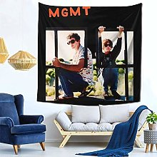 shenguang MGMT Tapestry Colorful Black Wall