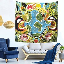 shenguang MGMT Tapestry Colorful Garden Tapestries