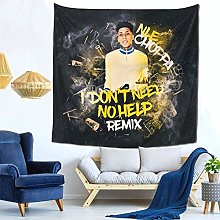 shenguang Nle Choppa Tapestry Colorful Romantic