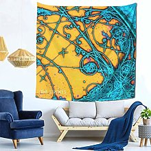 shenguang The Strokes Tapestry Colorful Decorative