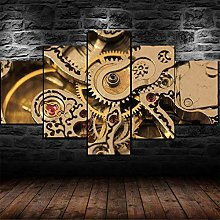 SHENQI- Frame 5 Piece Wall Art Picture, Prints On