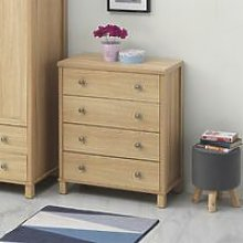 Sherwell Bedroom 4 Chest of Drawers Cabinet Warm