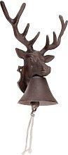 Sherwood Deer Door Bell Sol 72 Outdoor