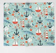 SHHSGZ Nautical Anchor 3d print novelty blanket