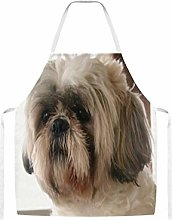 Shih Tzu Home Kitchen Cooking Grill Aprons For