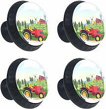 Shiiny Farm Tractor Vehicle Drawer Knob Pull