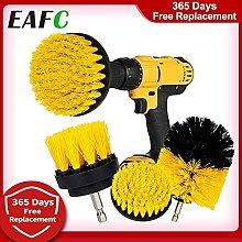 SHIKAN 3Pcs/Set Electric Scrubber Brush Drill