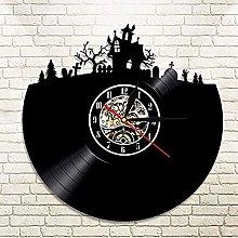 SHILLPS 1Piece Halloween Decorations Vinyl Record