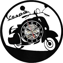 SHILLPS CUT VINYL LP RECORD WALL CLOCK WITH LED