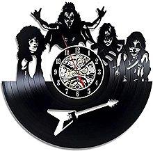 SHILLPS Rock Band Wall Clock Modern Design for