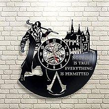 SHILLPS Vinyl Record Wall Clock Modern Design