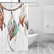 Shimen Path unique shower curtain cheap shower