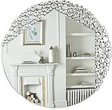Shimmer Round Wall Mirror