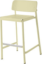 Shine Bar chair - H 75 cm - Metal by Emu