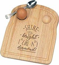 Shine Bright Like A Diamond Breakfast Dippy Egg