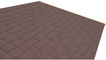 Shingle Roofing Kit Sol 72 Outdoor Colour: Brown
