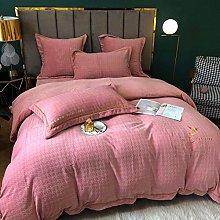 Shinon bedding duvet covers full-Milk velvet baby