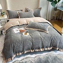 Shinon bedding duvet covers full-Winter thick milk